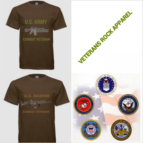 Veterans Rock Apparel'