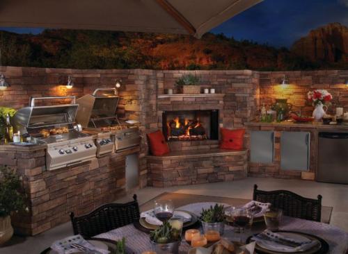 built in outdoor grill colorado'