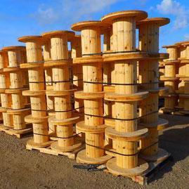 Wood Reels'