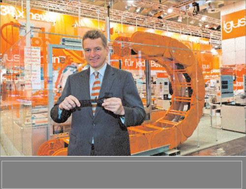 Frank Blase, CEO igus GmbH'