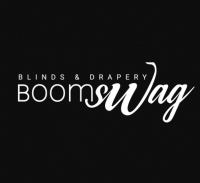 Boomswag Blinds and Drapery Logo