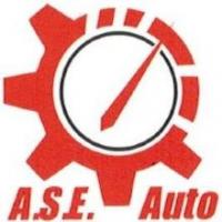 A.S.E. Auto Center Logo