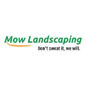 Company Logo For Mow Landscaping'