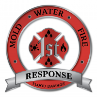 1st Response Plumbing & Flood Damage Logo