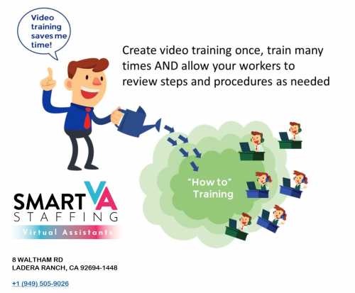 Video Training Saves Time'