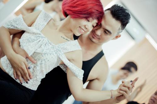 Salsa dance'