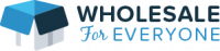 Wholesale For Everyone Logo