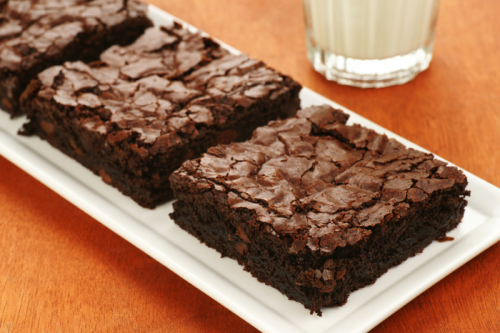 Brownies & Brownies. Outrageously delicious.'