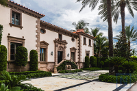 Mediterranean homes of Sarasota, Florida.
