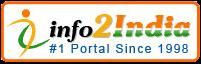 Logo for info2india'
