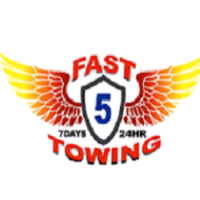 Fast 5 Towing Logo
