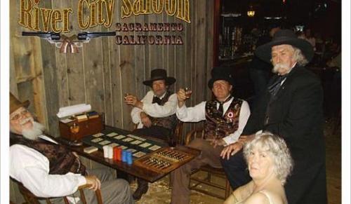 River City Saloon Interior'