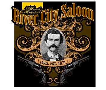 Company Logo For River City Saloon'