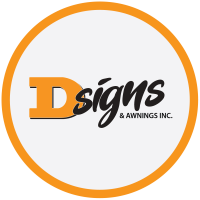 D-Signs & Awnings Inc. Logo