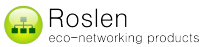 Roslen Eco-Networking Products Logo