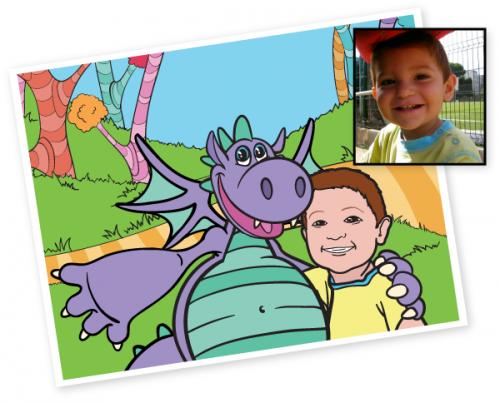 Pogo the Dragon and Dodo the Bird Children's Book'