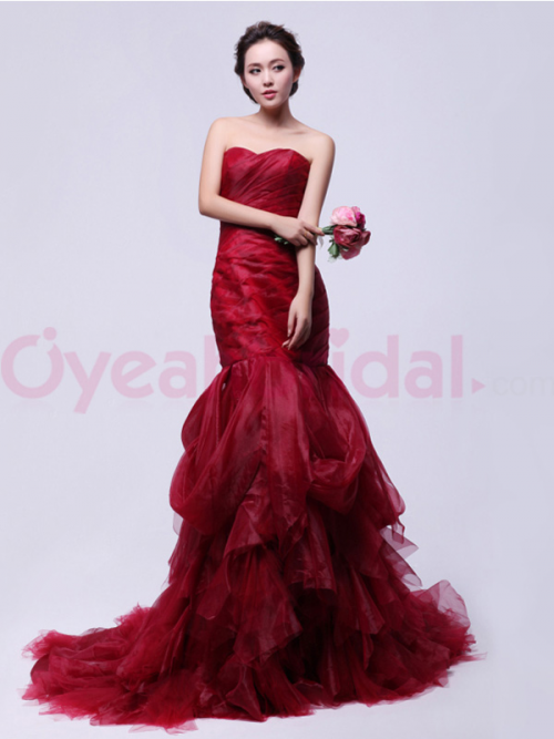 New Evening Dresses From Oyeahbridal'