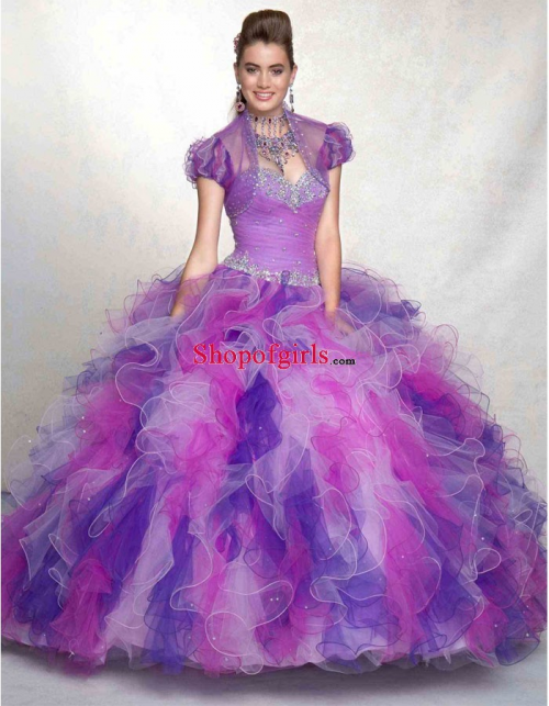 Ball-gown Prom Dresses Now Online At Shopofgirls.com'