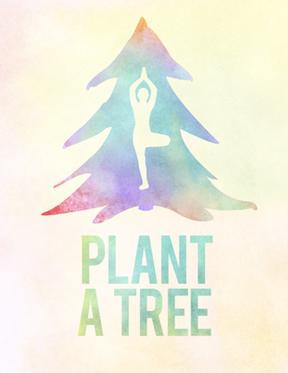 PLANT A TREE'