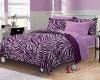 Zebra Print Bedding'