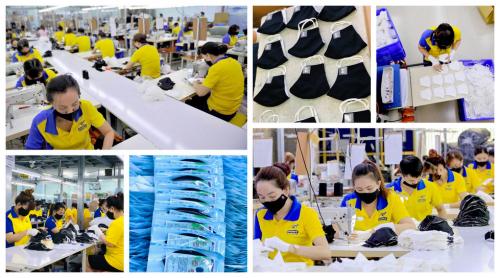 Dony Garment Factory in Vietnam'