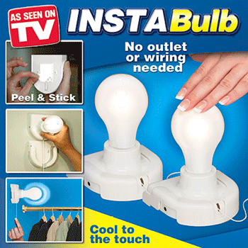 InstaBulb Stick Up Bulb As Seen on TV'