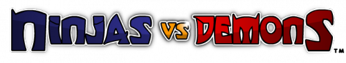 Company Logo For Ninjas vs Demons'