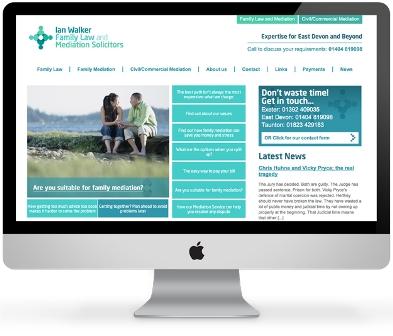 Website design'