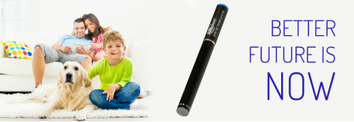 Better future with electronic cigarettes'