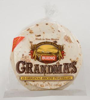 Grandma's Tortillas'