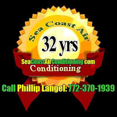 Sea Coast Air Conditioning 32 years'