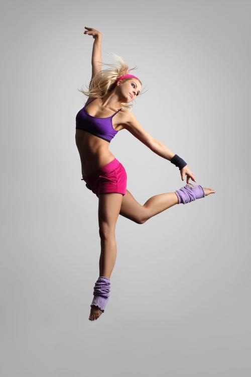 Fitness Meets Dance Studio'