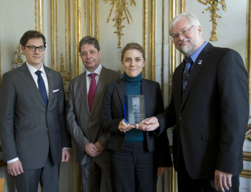 French Government Receives IDA Award'