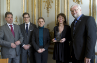 French Government Receives IDA Award
