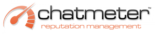 Logo for chatmeter'
