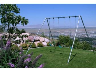 A-Frame Swing Set'