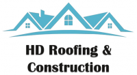 HD Roofing & Construction Logo