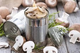 Caned Mushroom Market'