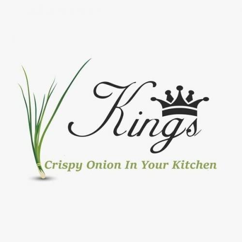 Company Logo For Kings Crispy Onions'