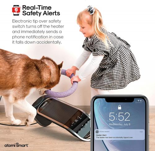 Smart WiFi Tower Heater'