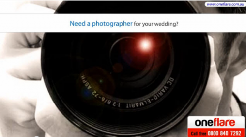 Oneflare - For Hiring  Wedding Photographers'