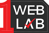 1weblab(Website Design Development Company in Greater Noida) Logo
