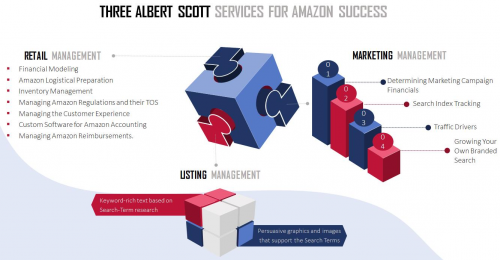 Albert Scott Services Graphic'