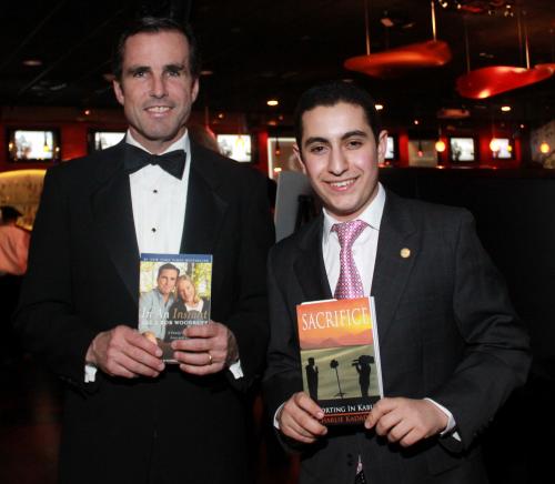 Teen Author & Aspiring Journalist Meets Hero, ABC anchor'
