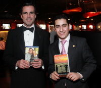 Teen Author & Aspiring Journalist Meets Hero, ABC anchor