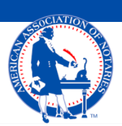 Company Logo For American Association of Notaries'