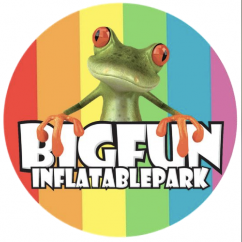 Company Logo For Big Fun Inflatable Park'