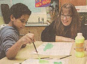 Send an art teacher to the Arctic Circle'