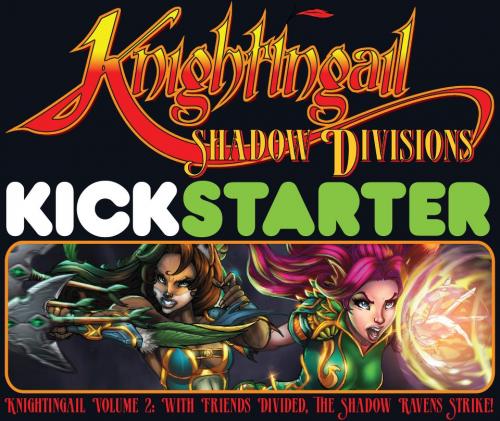 Company Logo For Knightingail Kickstarter - Crucidel Product'