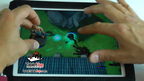 Miniatures + Tablets = TabletTop gaming!'